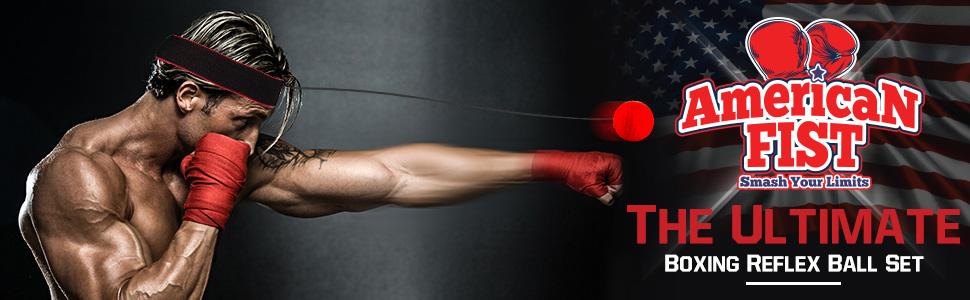 Amazon.com : Boxing Reflex Ball Set, 4 Difficulty Level Training
