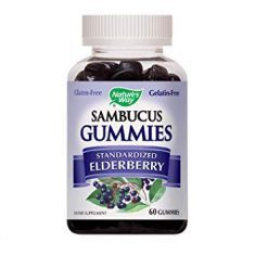 Nature's Way Sambucus Elderberry Gummies - Keeps Colds And Flu Away