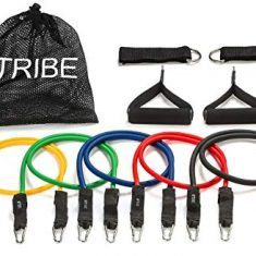 Resistance Bands With Metal Clips And Accessories For Any Exercise
