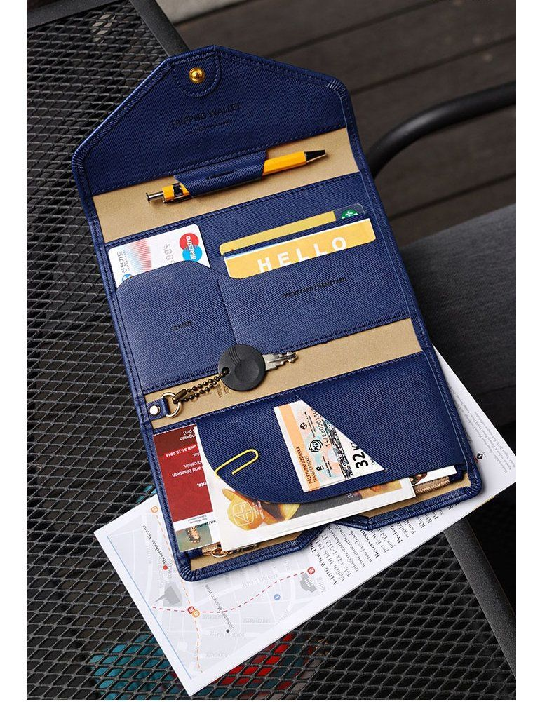 Amazon.com: Zoppen Multi-purpose Travel Passport Wallet, Babie