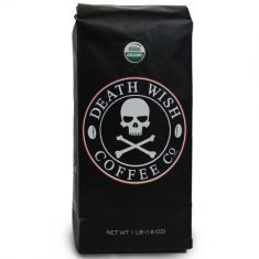 Death Wish Ground Coffee - Strongest Cup Of Coffee That Will Knock Your Socks Off