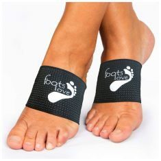 Supportive Copper-Infused Foot Sleeves For Foot Pain