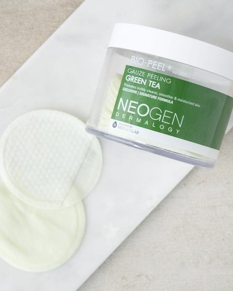 Neogen Bio-Peel Gauze Peeling Green Tea Exfoliating Pads | Soko Glam