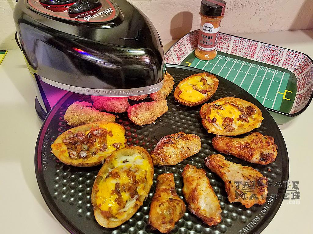 Pizzazz PLUS Pizza Oven Review – TailgateMaster.com
