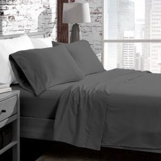 Silky Soft Microfiber Bed Sheets That Won't Break The Bank