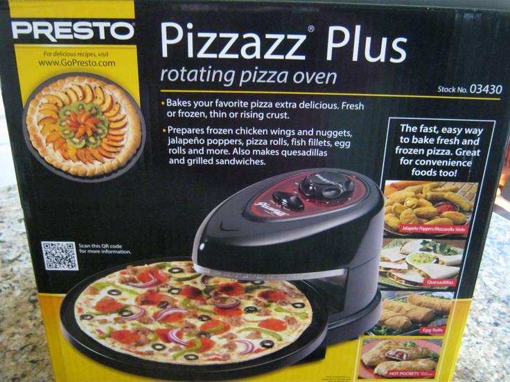 Presto Pizzazz Plus Rotating Oven Review