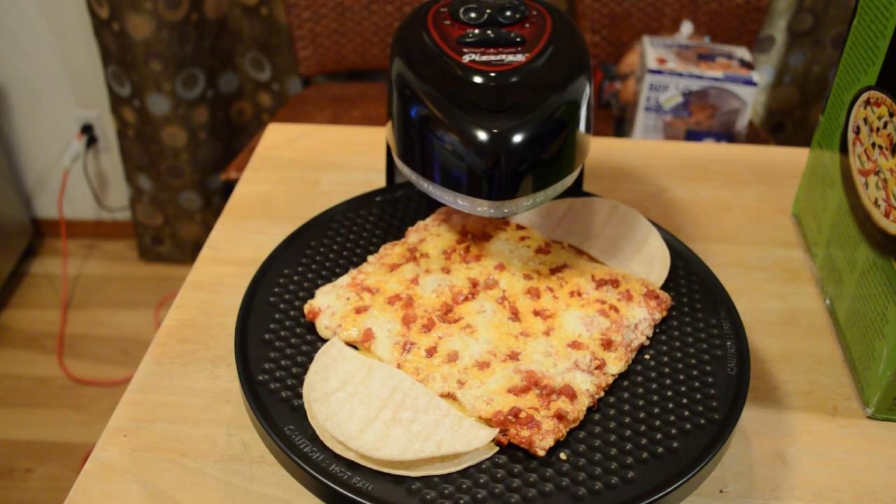 Presto Pizzazz Plus Rotating Pizza Oven Review - YouTube