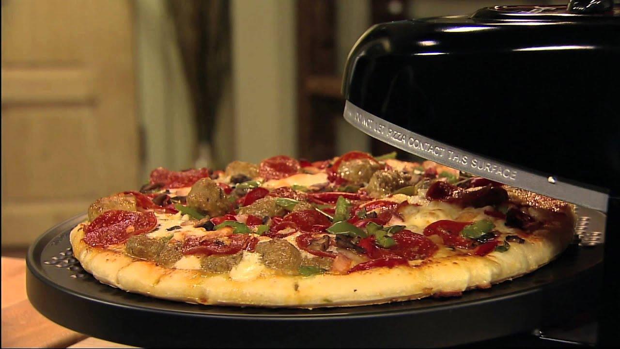 Presto Pizzazz Plus Rotating Pizza Oven - YouTube