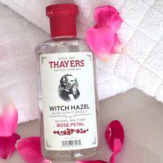 Thayers Alcohol-Free Rose Petal Witch Hazel Toner with Aloe Vera