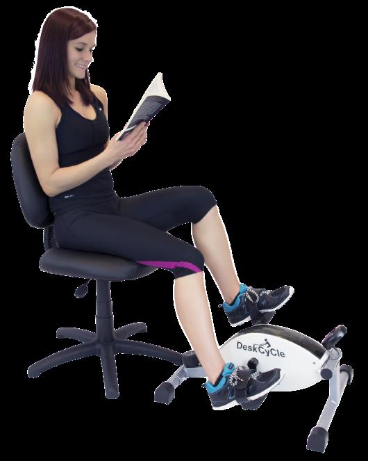 The DeskCycle Under Desk Bike